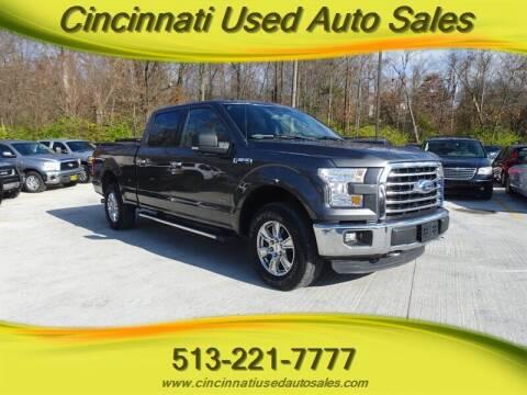 2015 Ford F-150 for sale at Cincinnati Used Auto Sales in Cincinnati OH