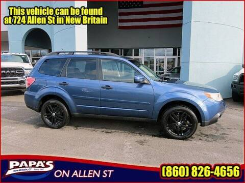 2011 Subaru Forester for sale at Papas Chrysler Dodge Jeep Ram in New Britain CT