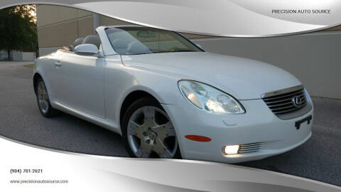 2005 Lexus SC 430 for sale at Precision Auto Source in Jacksonville FL