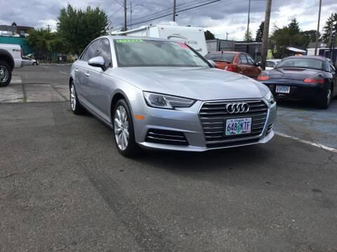 2017 Audi A4 for sale at Longoria Motors in Portland OR