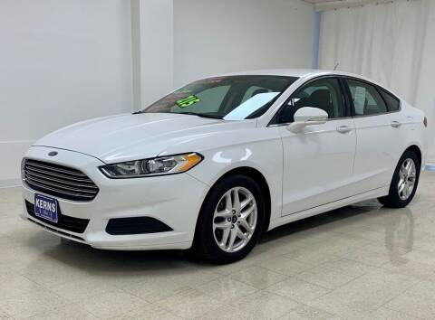 2015 Ford Fusion for sale at Kerns Ford Lincoln in Celina OH