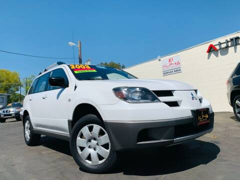 2003 Mitsubishi Outlander for sale at Alpha AutoSports in Roseville CA