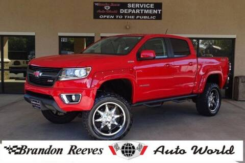 2016 Chevrolet Colorado for sale at Brandon Reeves Auto World in Monroe NC