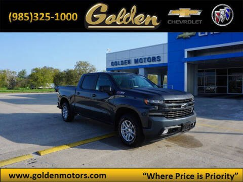 2019 Chevrolet Silverado 1500 for sale at GOLDEN MOTORS in Cut Off LA