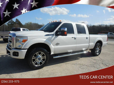 2014 Ford F-250 Super Duty for sale at TEDS CAR CENTER in Athens AL