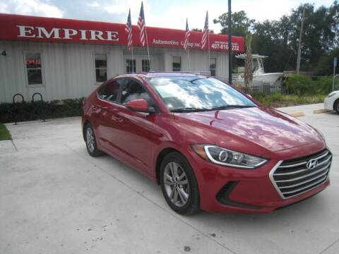 2017 Hyundai Elantra for sale at Empire Automotive Group Inc. in Orlando FL