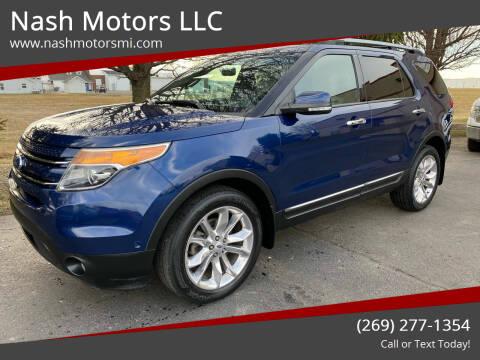 2012 Ford Explorer for sale at Nash Motors LLC in Hudsonville MI