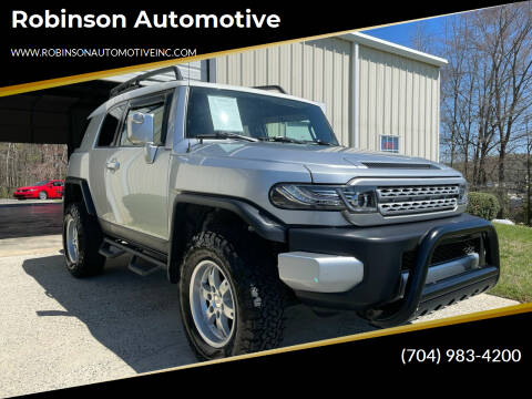 2007 Toyota FJ Cruiser for sale at Robinson Automotive in Albemarle NC