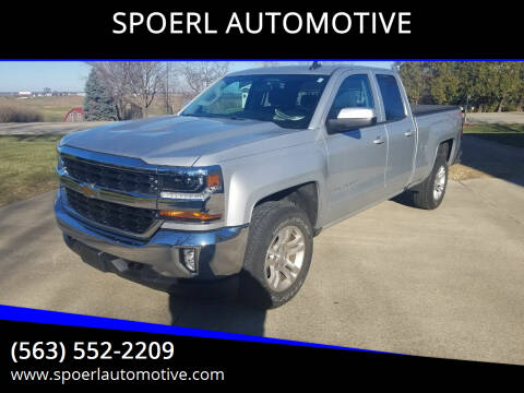 2017 Chevrolet Silverado 1500 for sale at SPOERL AUTOMOTIVE in Sherrill IA