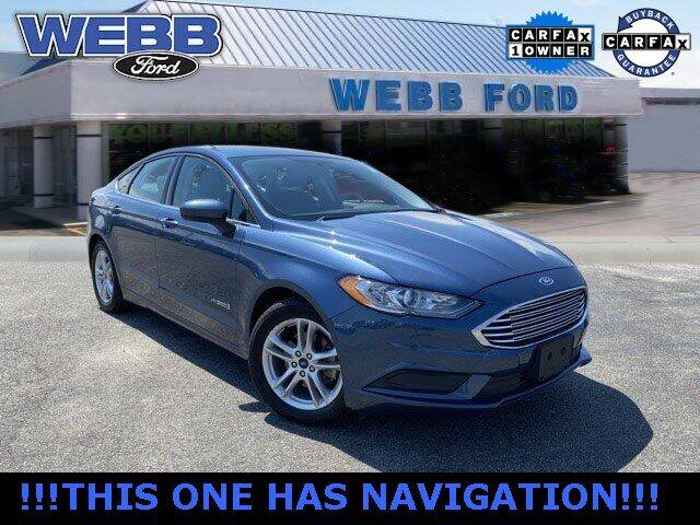2018 Ford Fusion Hybrid for sale in Highland, IN