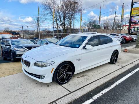 2012 BMW 5 Series for sale at JR Used Auto Sales in North Bergen NJ