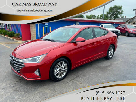 2019 Hyundai Elantra for sale at Car Mas Broadway in Crest Hill IL