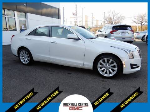 2018 Cadillac ATS for sale at Rockville Centre GMC in Rockville Centre NY