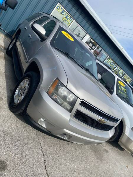 2008 Chevrolet Tahoe for sale at Car Barn of Springfield in Springfield MO