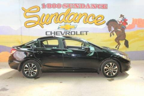 2015 Honda Civic for sale at Sundance Chevrolet in Grand Ledge MI
