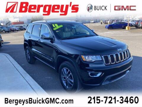 2018 Jeep Grand Cherokee for sale at Bergey's Buick GMC in Souderton PA