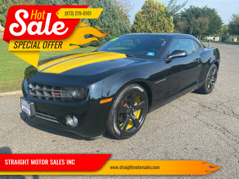 2011 Chevrolet Camaro for sale at STRAIGHT MOTOR SALES INC in Paterson NJ