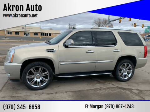 2008 Cadillac Escalade for sale at Akron Auto - Fort Morgan in Fort Morgan CO