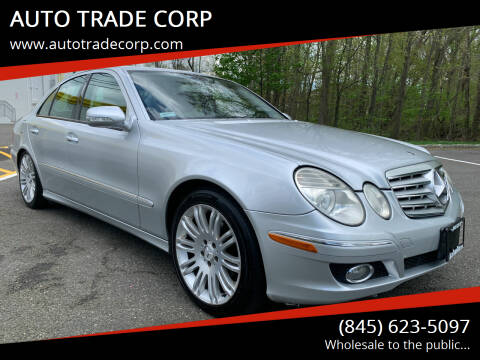 2007 Mercedes-Benz E-Class for sale at AUTO TRADE CORP in Nanuet NY