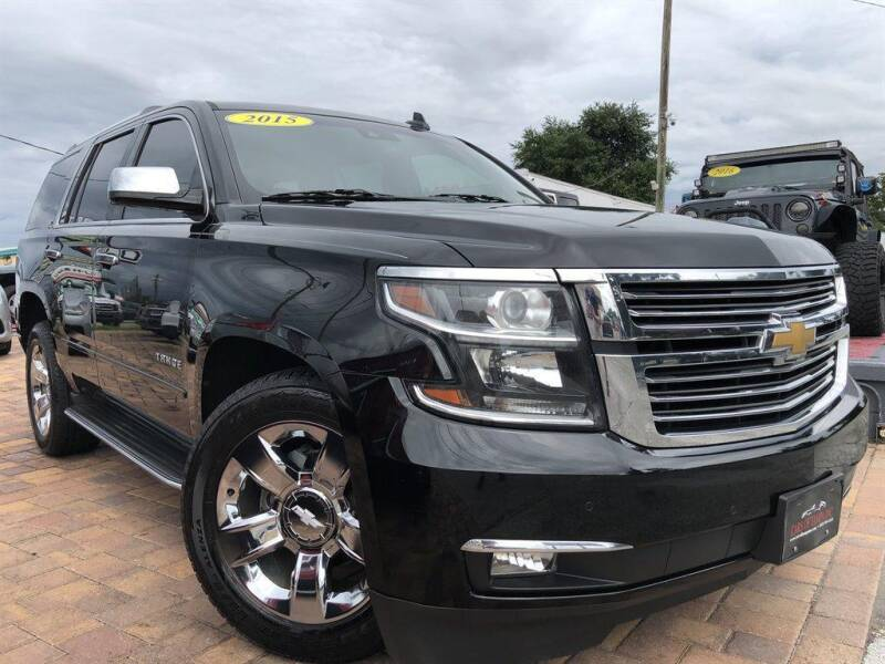 2015 Chevrolet Tahoe for sale at Cars of Tampa in Tampa FL