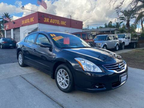 2011 Nissan Altima for sale at 3K Auto in Escondido CA