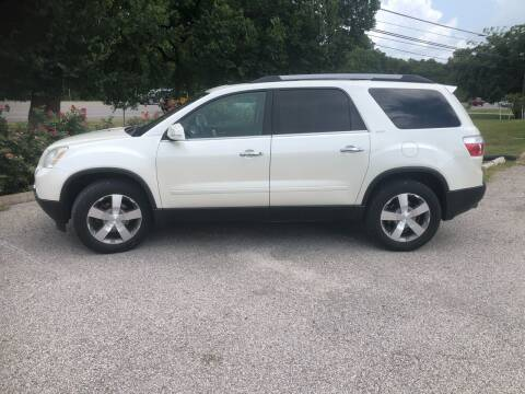 2011 GMC Acadia for sale at Discount Auto in Austin TX