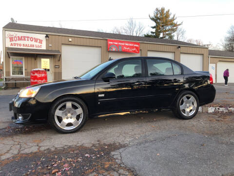 2007 Chevrolet Malibu for sale at Jim's Hometown Auto Sales LLC in Byesville OH