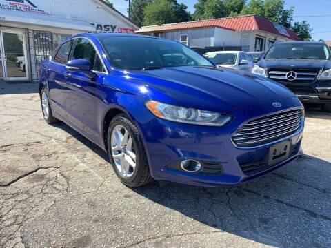 2013 Ford Fusion for sale at SR Motors Inc in Gainesville GA