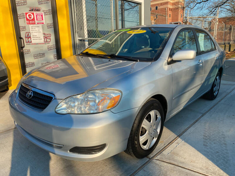 2007 Toyota Corolla for sale at DEALS ON WHEELS in Newark NJ