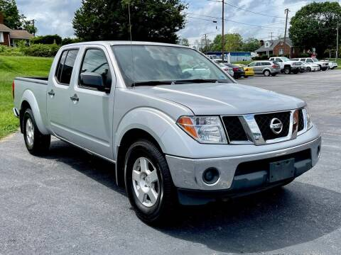 2007 Nissan Frontier for sale at ANZ AUTO CONCEPTS LLC in Fredericksburg VA