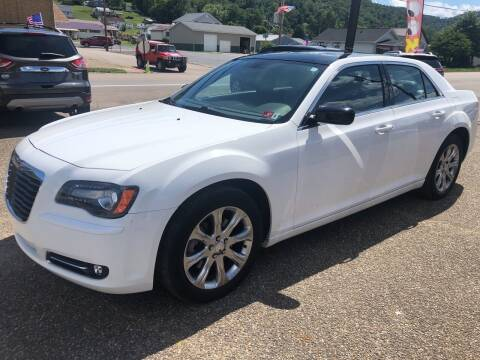 2013 Chrysler 300 for sale at MYERS PRE OWNED AUTOS & POWERSPORTS in Paden City WV