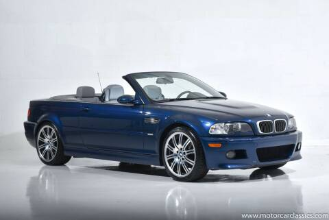 2004 BMW M3 for sale at Motorcar Classics in Farmingdale NY