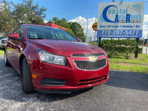 2014 Chevrolet Cruze for sale at Coastal Auto Ranch, Inc. in Port Saint Lucie FL
