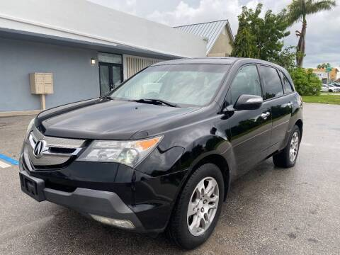 2007 Acura MDX for sale at UNITED AUTO BROKERS in Hollywood FL