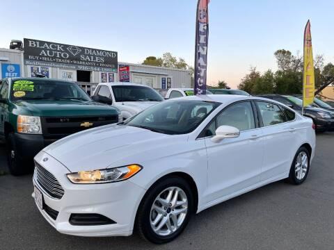 2014 Ford Fusion for sale at Black Diamond Auto Sales Inc. in Rancho Cordova CA