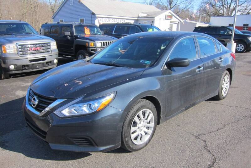 2018 Nissan Altima for sale at K & R Auto Sales,Inc in Quakertown PA