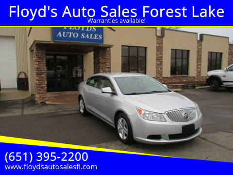 2011 Buick LaCrosse for sale at Floyd's Auto Sales Forest Lake in Forest Lake MN