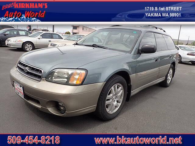 2002 Subaru Outback for sale at Bruce Kirkham Auto World in Yakima WA