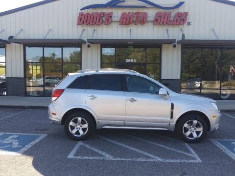 2012 Chevrolet Captiva Sport for sale at DOUG'S AUTO SALES INC in Pleasant View TN