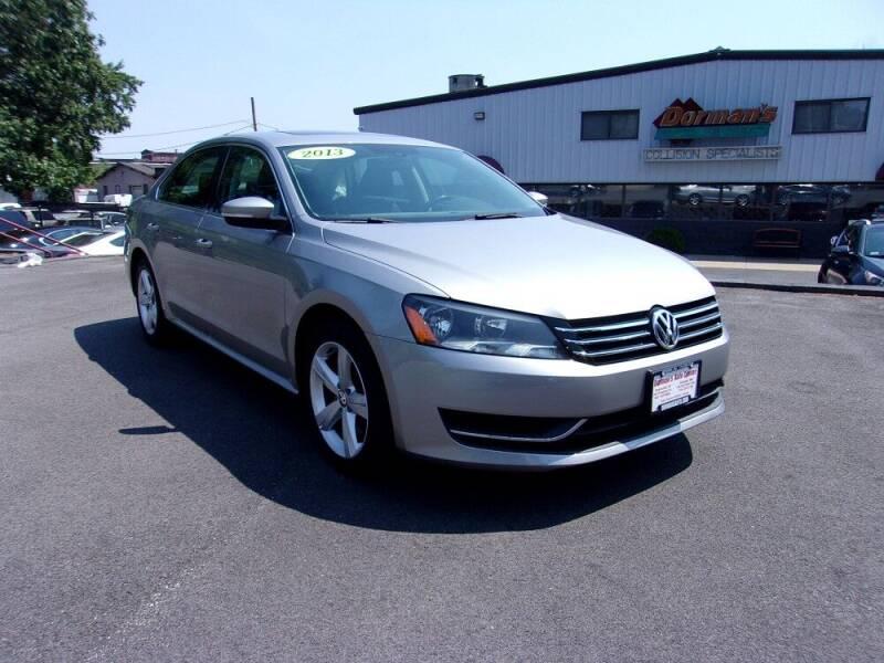 2013 Volkswagen Passat for sale at Dorman's Auto Center inc. in Pawtucket RI