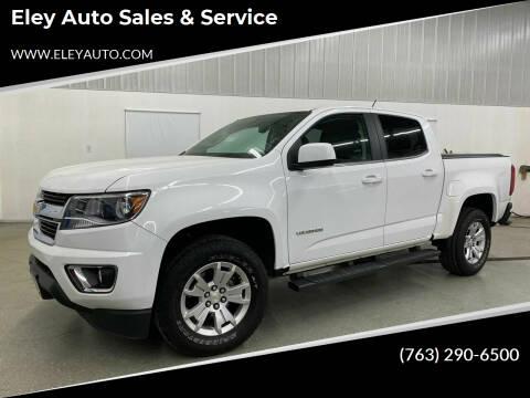 2017 Chevrolet Colorado for sale at Eley Auto Sales & Service in Loretto MN