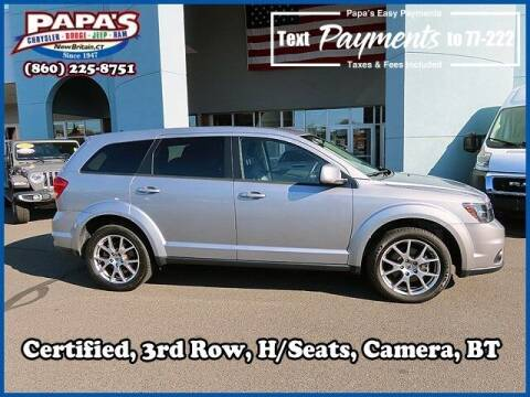 2018 Dodge Journey for sale at Papas Chrysler Dodge Jeep Ram in New Britain CT