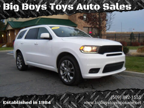2019 Dodge Durango for sale at Big Boys Toys Auto Sales in Spokane Valley WA