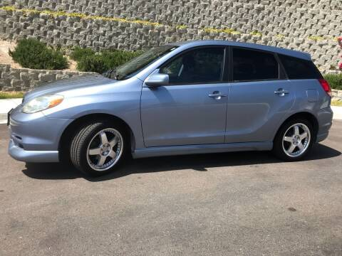 2003 Toyota Matrix for sale at CALIFORNIA AUTO GROUP in San Diego CA