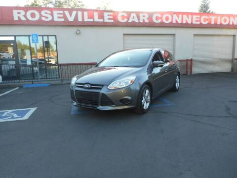 2014 Ford Focus for sale at ROSEVILLE CAR CONNECTION in Roseville CA
