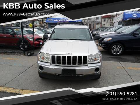 2007 Jeep Grand Cherokee for sale at KBB Auto Sales in North Bergen NJ