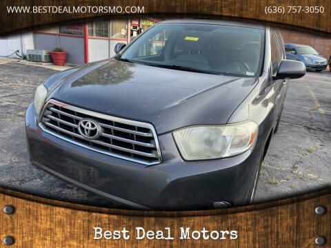 2008 Toyota Highlander for sale at Best Deal Motors in Saint Charles MO