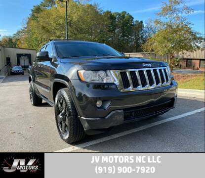2011 Jeep Grand Cherokee for sale at JV Motors NC LLC in Raleigh NC