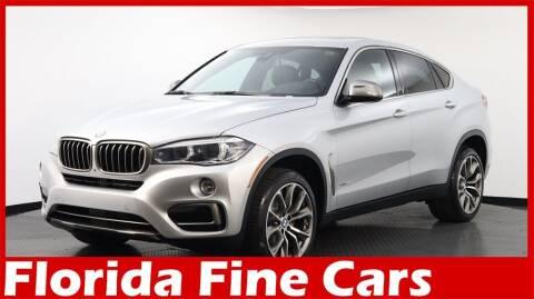 2017 BMW X6 for sale at Florida Fine Cars - West Palm Beach in West Palm Beach FL