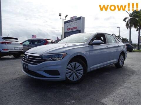 2019 Volkswagen Jetta for sale at Automotive Credit Union Services in West Palm Beach FL